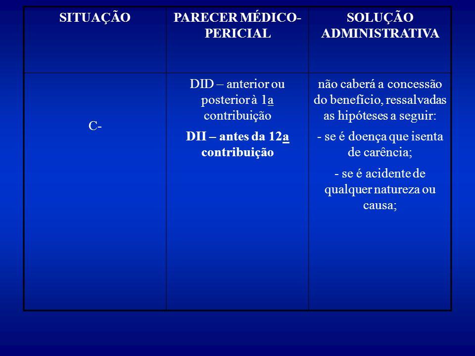 PARECER MÉDICO- PERICIAL SOLUÇÃO ADMINISTRATIVA