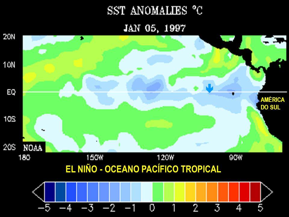 EL NIÑO - OCEANO PACÍFICO TROPICAL