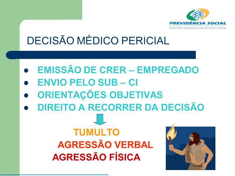 DECISÃO MÉDICO PERICIAL