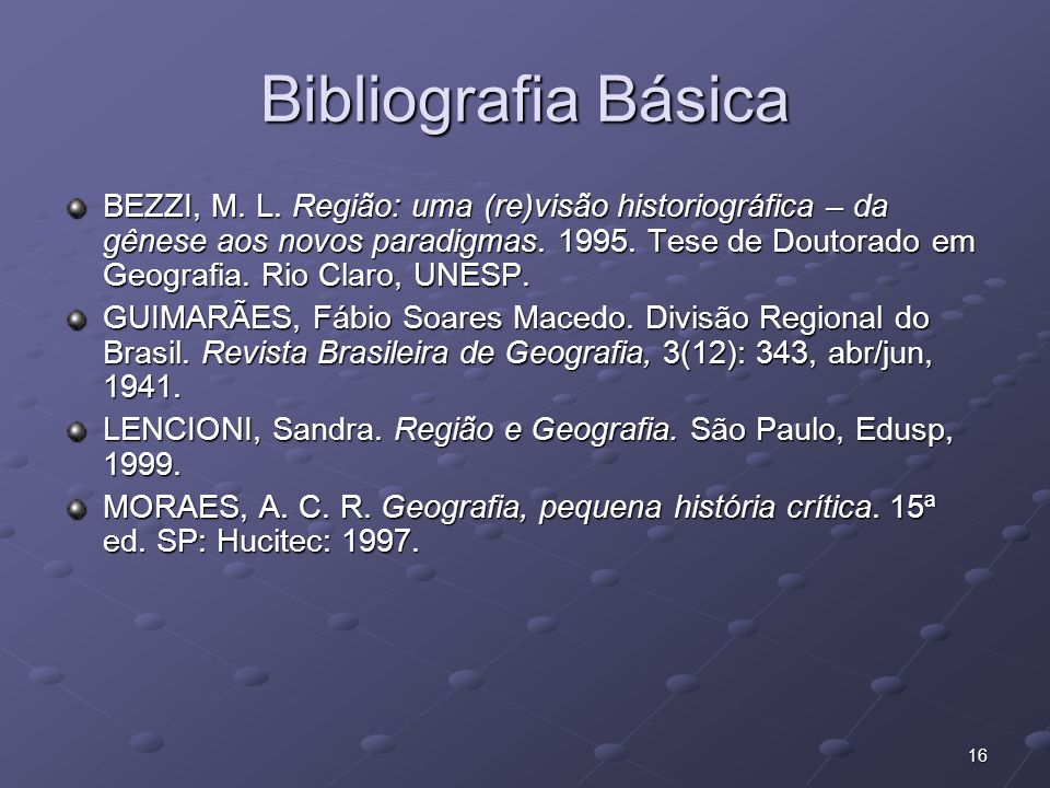 Bibliografia Básica