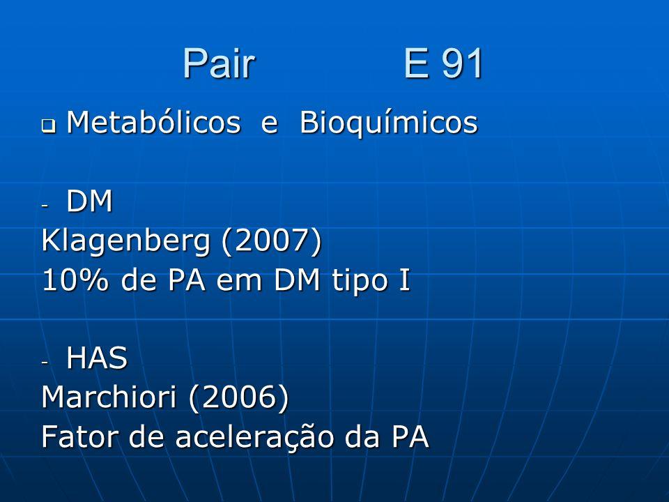 Pair E 91 Metabólicos e Bioquímicos DM Klagenberg (2007)