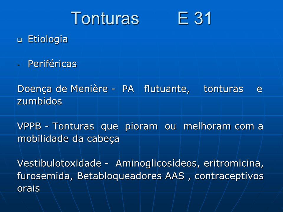 Tonturas E 31 Etiologia Periféricas