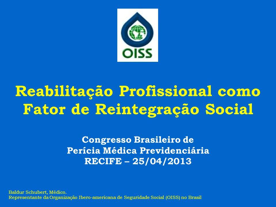 Reabilitação Profissional como Fator de Reintegração Social
