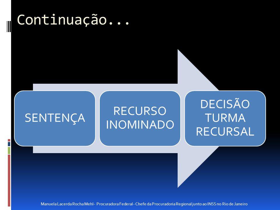 DECISÃO TURMA RECURSAL