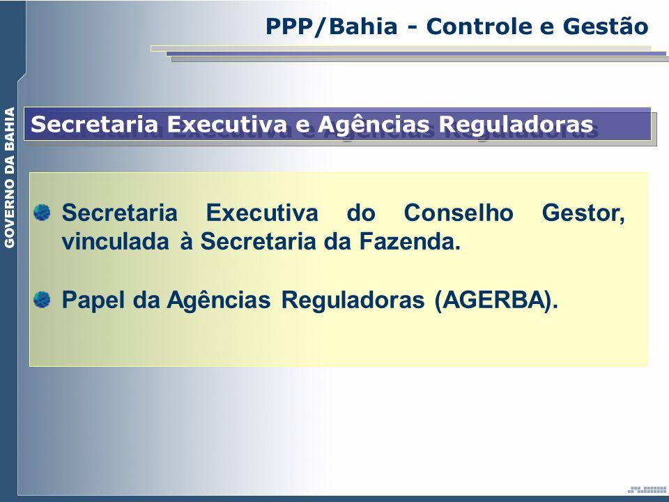 Papel da Agências Reguladoras (AGERBA).