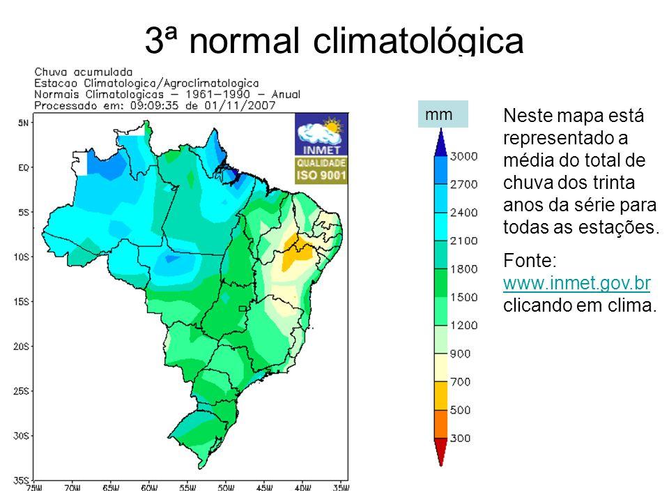 3ª normal climatológica
