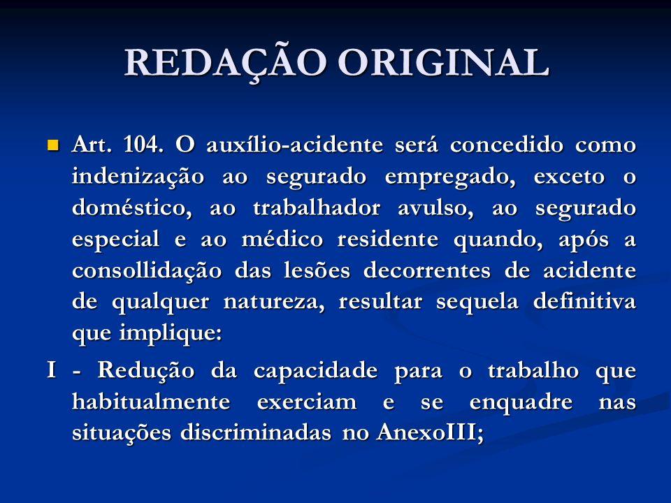 REDAÇÃO ORIGINAL