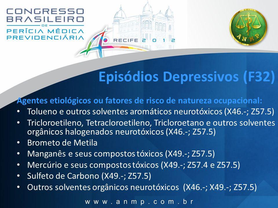 Episódios Depressivos (F32)