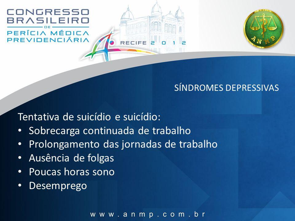 SÍNDROMES DEPRESSIVAS