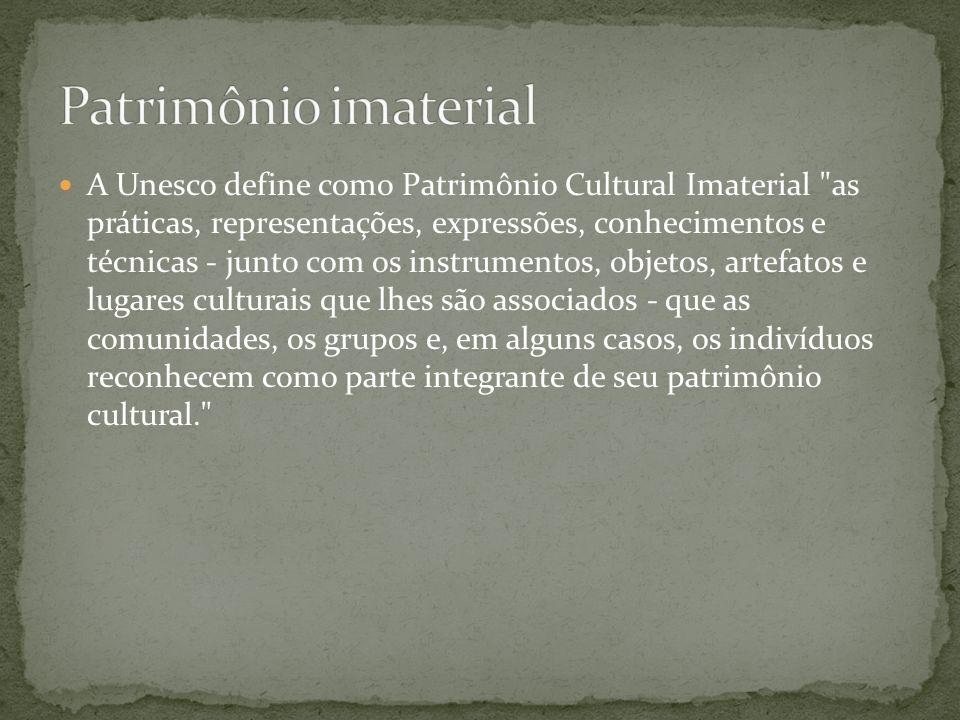 Patrimônio imaterial