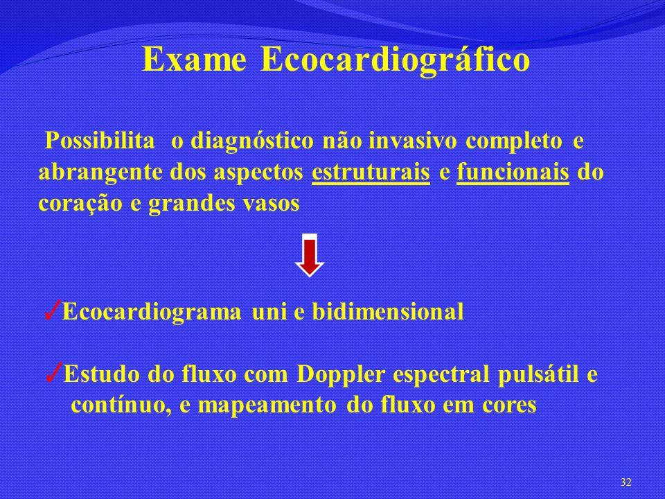 Exame Ecocardiográfico