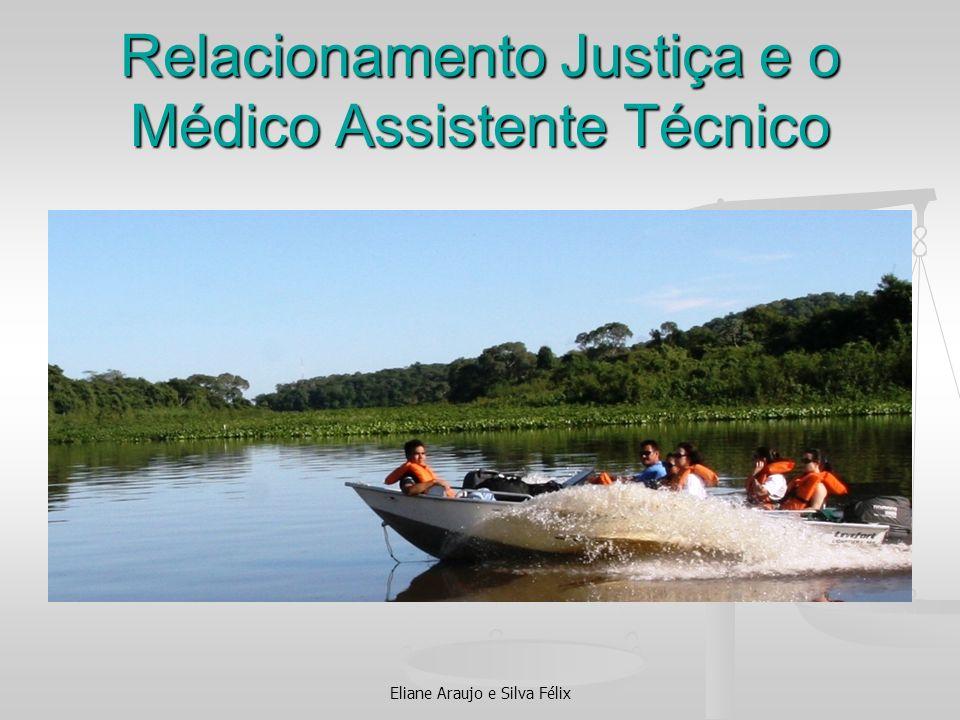 Relacionamento Justiça e o Médico Assistente Técnico