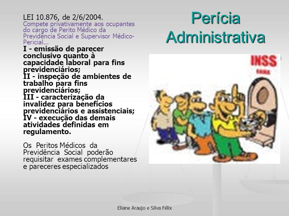 Perícia Administrativa