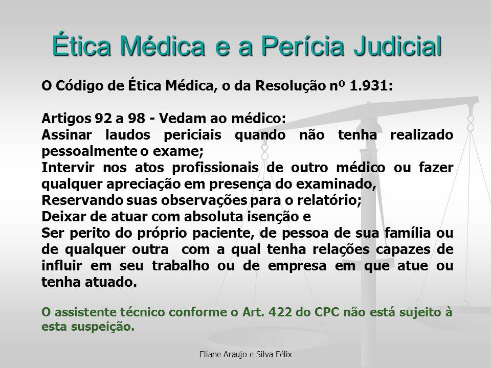 Ética Médica e a Perícia Judicial