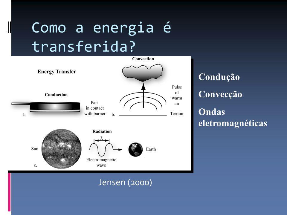 Como a energia é transferida