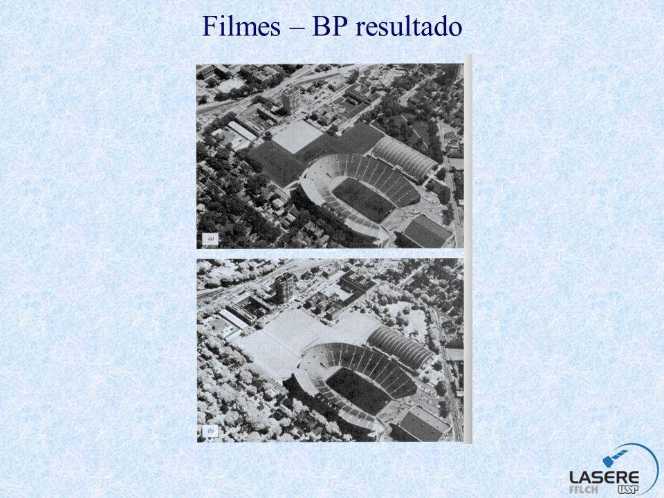 Filmes – BP resultado