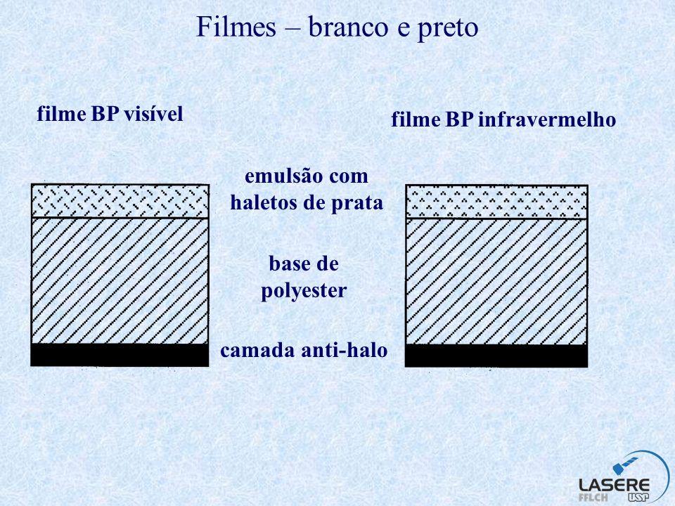 filme BP infravermelho emulsão com haletos de prata