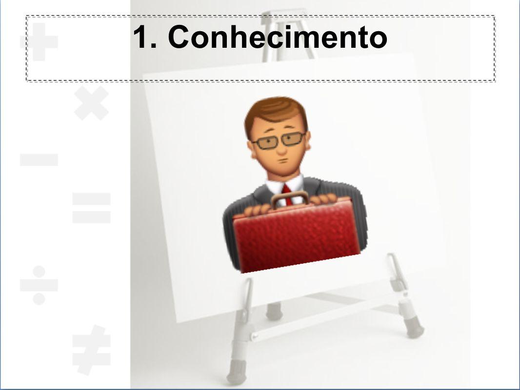 1. Conhecimento