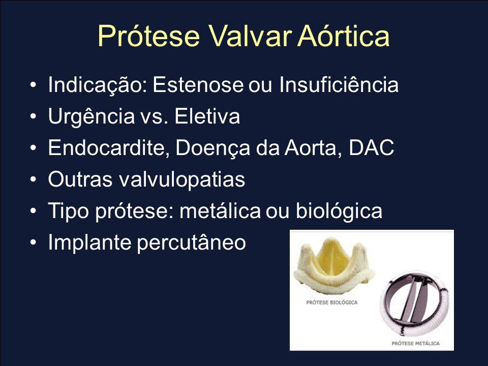 Prótese Valvar Aórtica