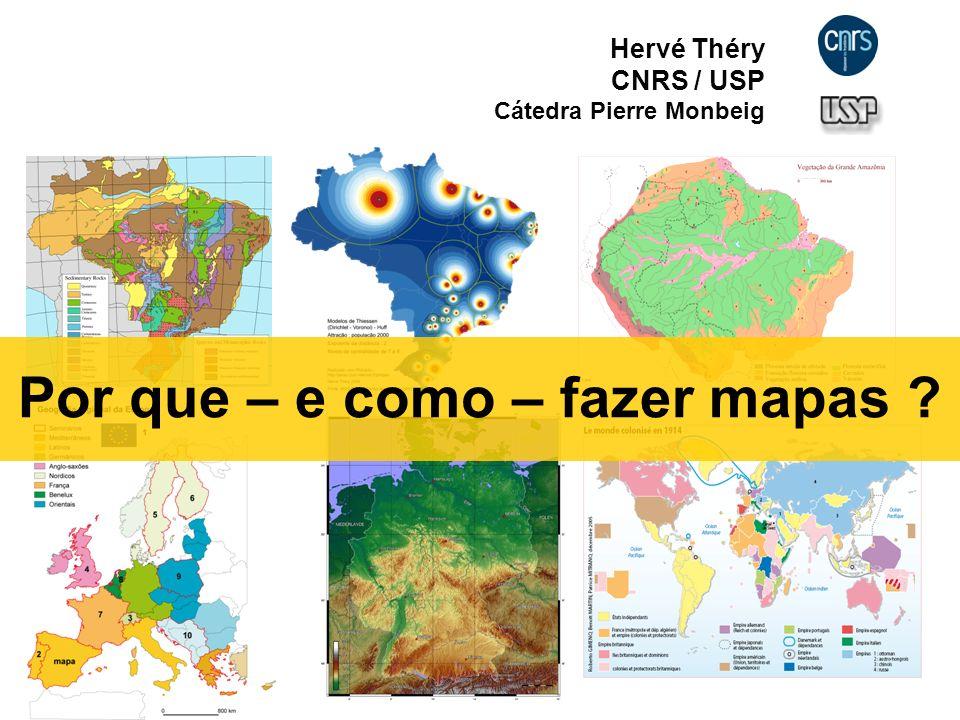Por que – e como – fazer mapas
