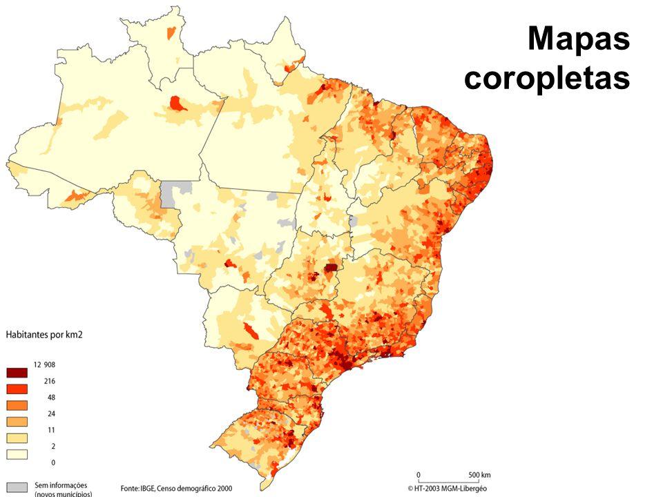Mapas coropletas