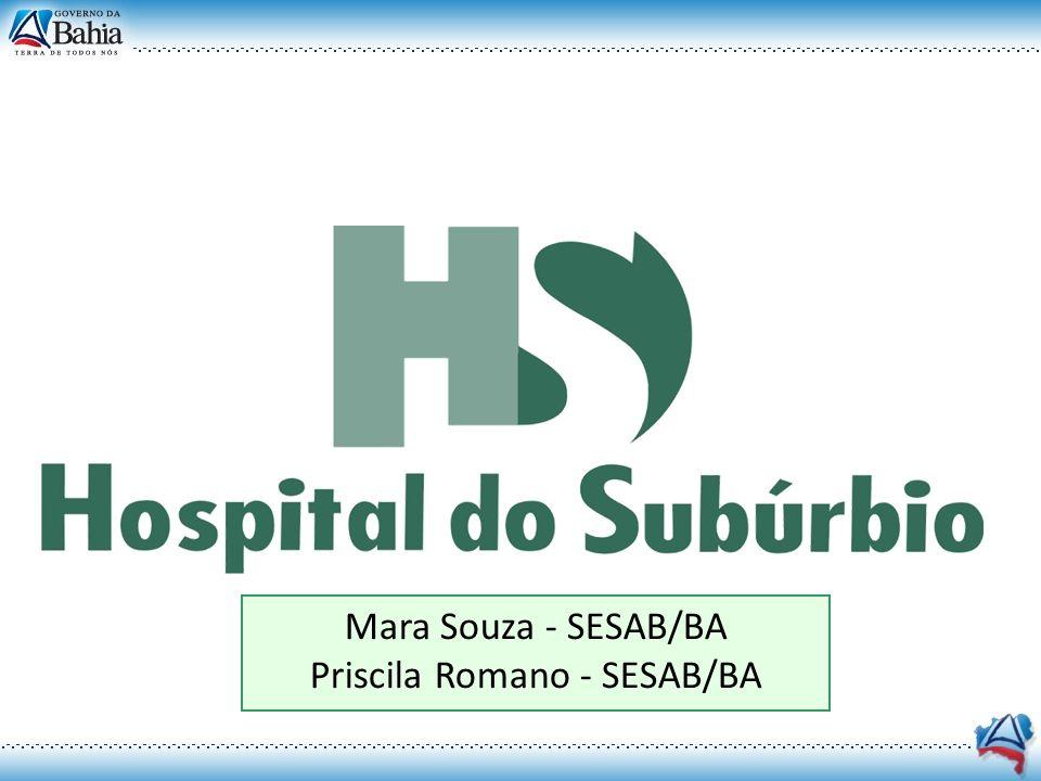 Priscila Romano - SESAB/BA