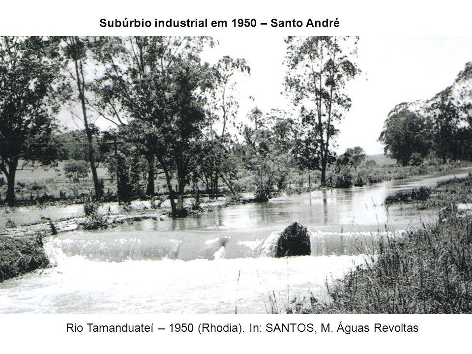 Subúrbio industrial em 1950 – Santo André