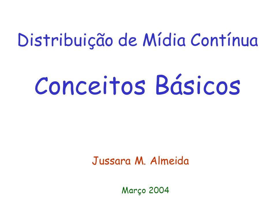 Distribuição de Mídia Contínua Conceitos Básicos