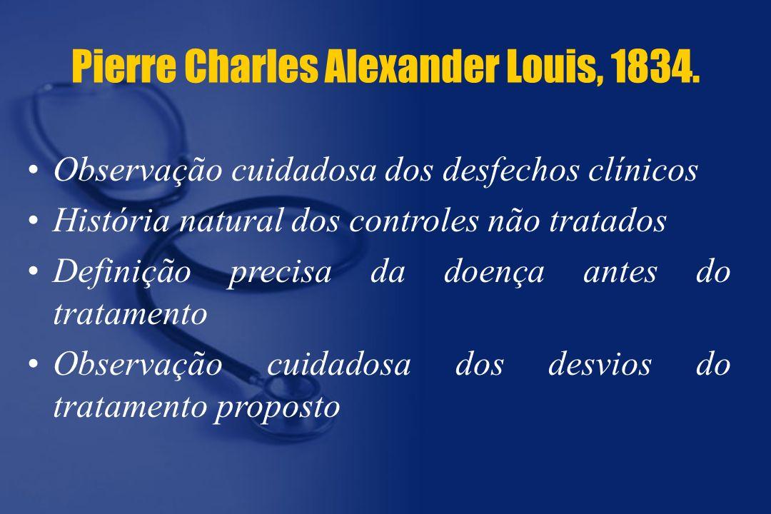 Pierre Charles Alexander Louis, 1834.