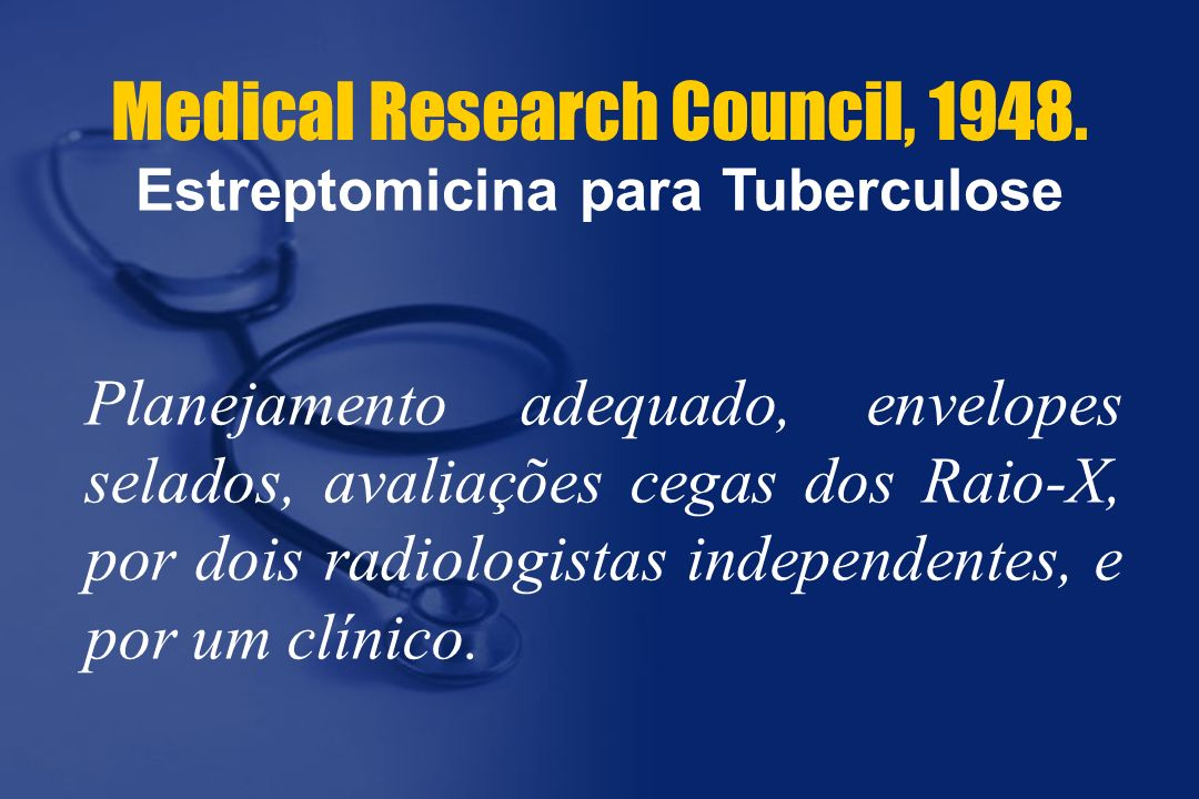 Medical Research Council, 1948.