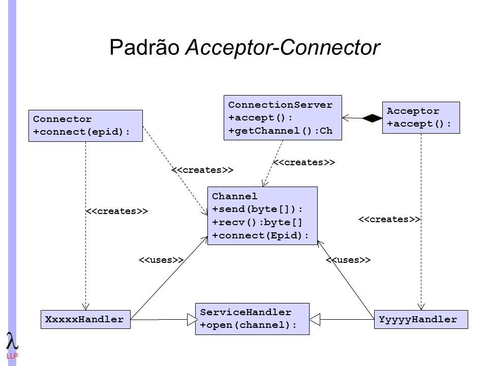 Padrão Acceptor-Connector