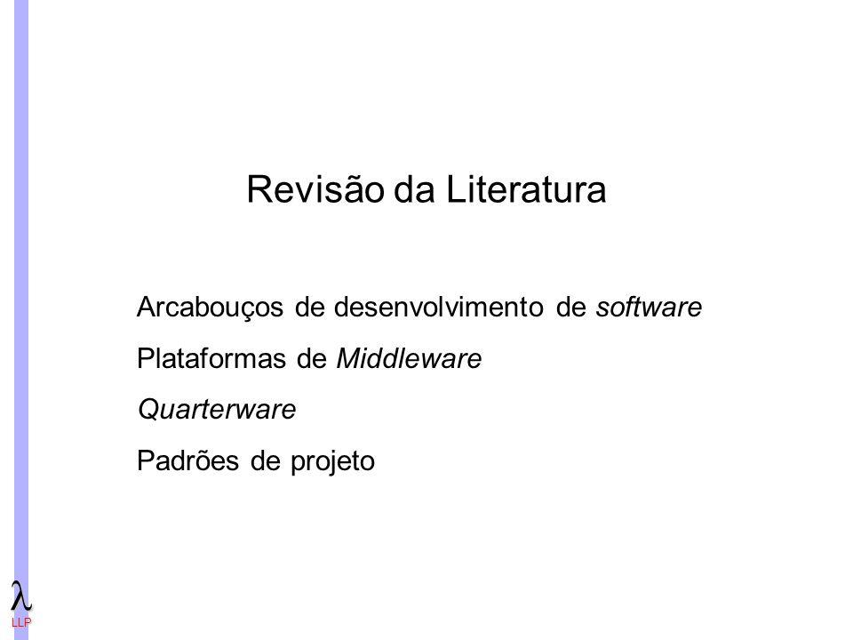Revisão da Literatura Arcabouços de desenvolvimento de software
