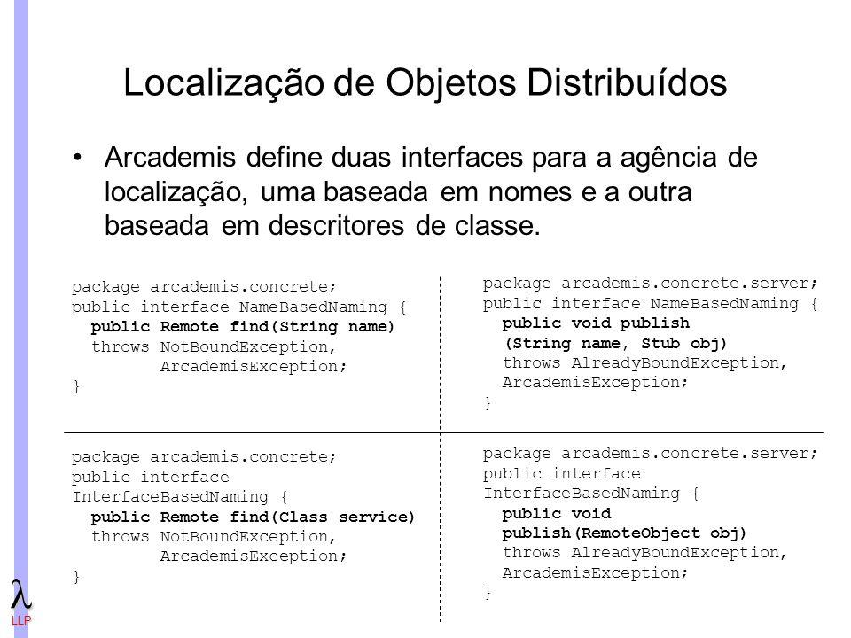 Localização de Objetos Distribuídos