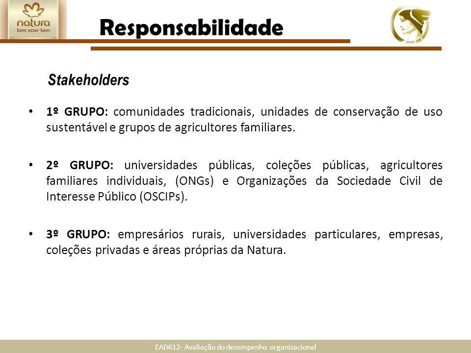 Responsabilidade Stakeholders