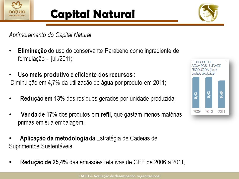 Capital Natural Aprimoramento do Capital Natural