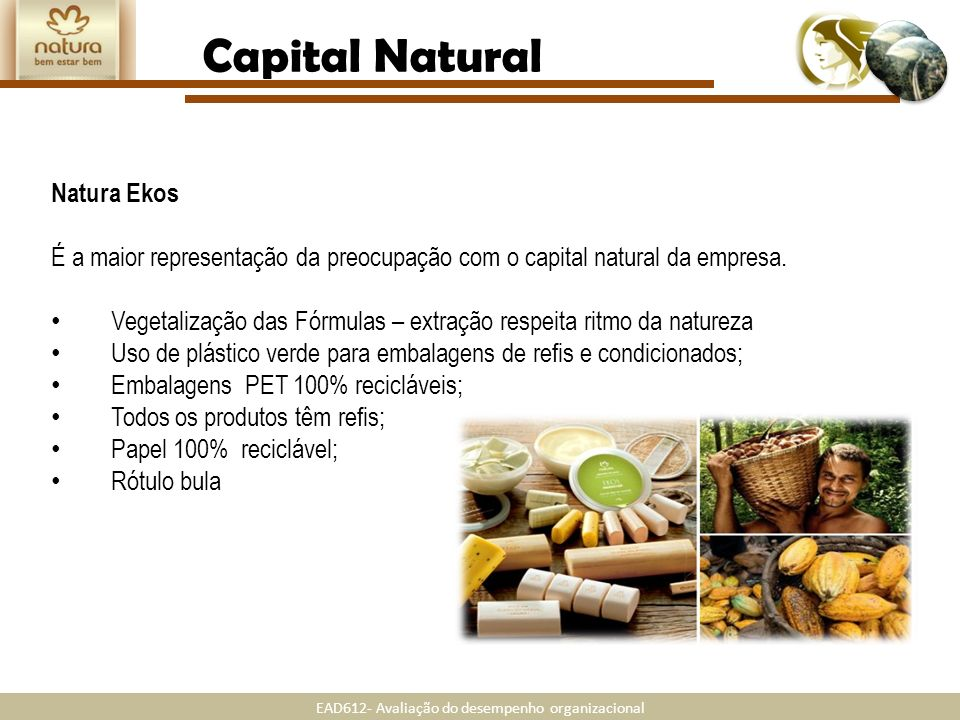 Capital Natural Natura Ekos