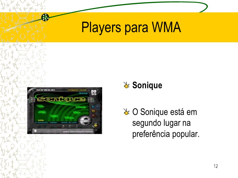 Players para WMA Sonique