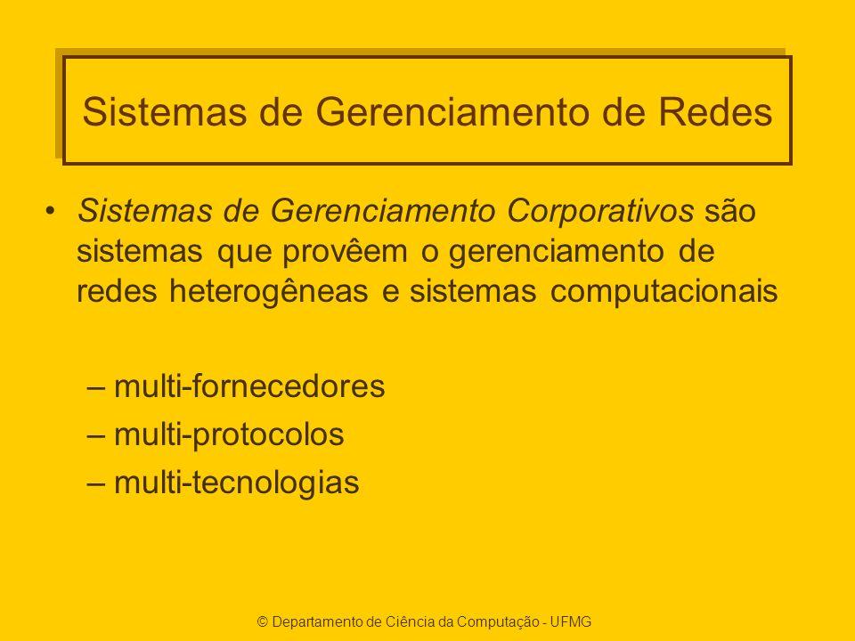 Sistemas de Gerenciamento de Redes