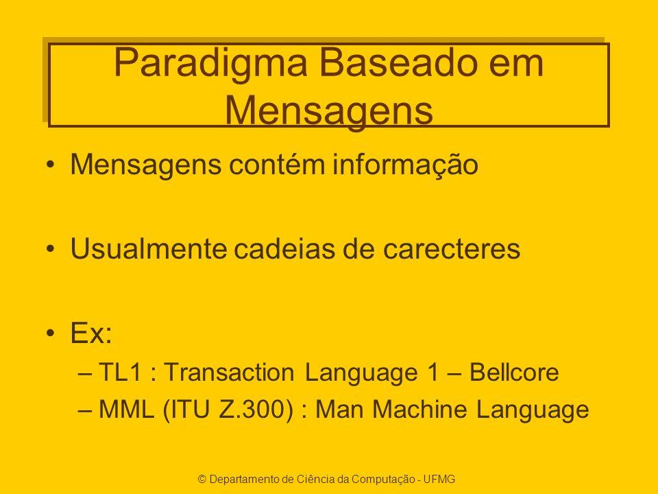 Paradigma Baseado em Mensagens