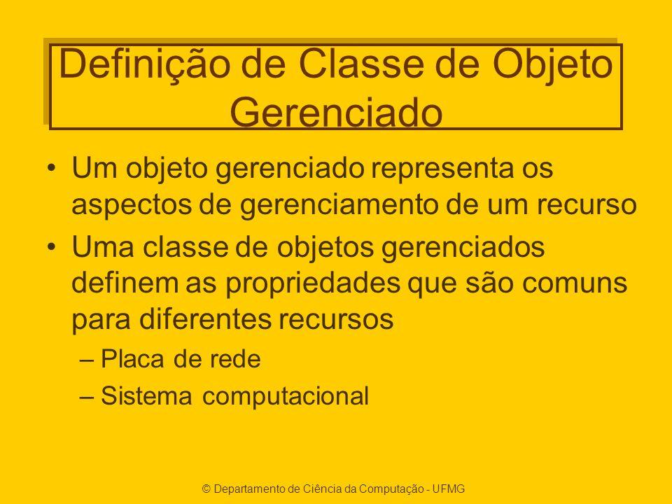 Definição de Classe de Objeto Gerenciado