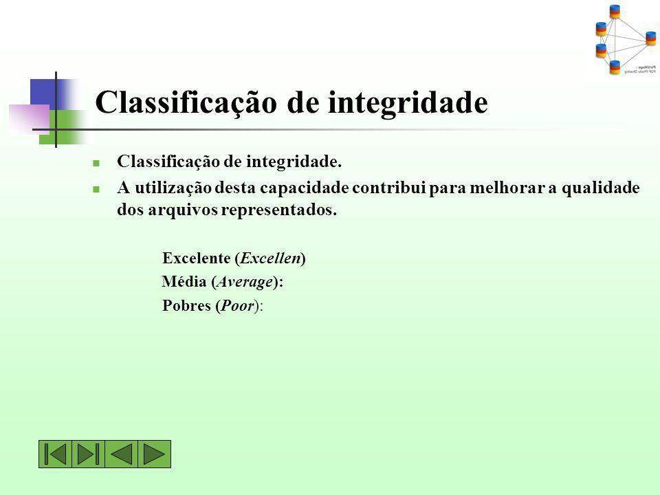 Classificação de integridade