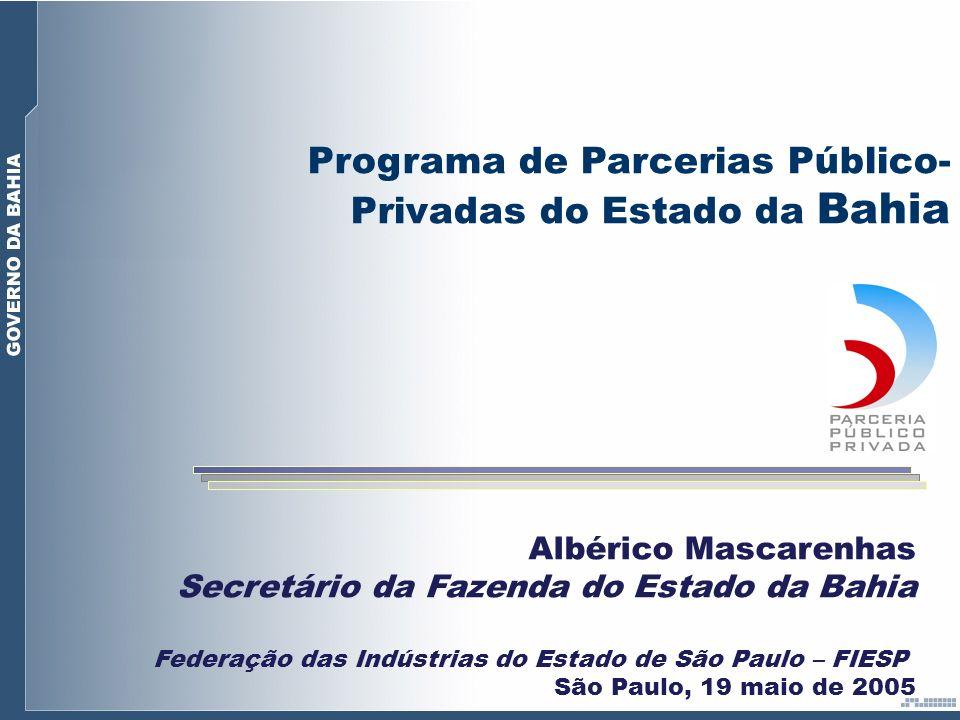 Programa de Parcerias Público-Privadas do Estado da Bahia