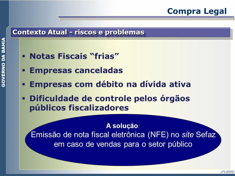 Empresas com débito na dívida ativa