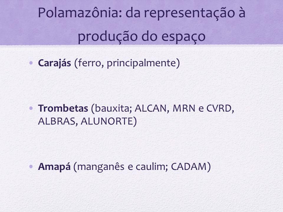 Polamazônia: da representação à produção do espaço