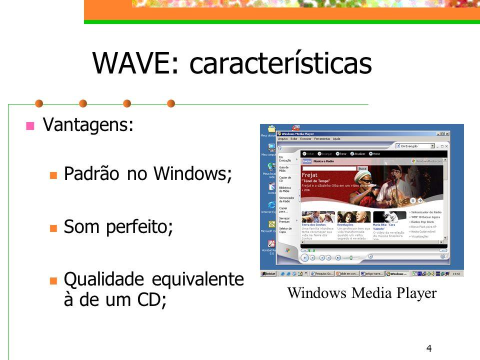 WAVE: características