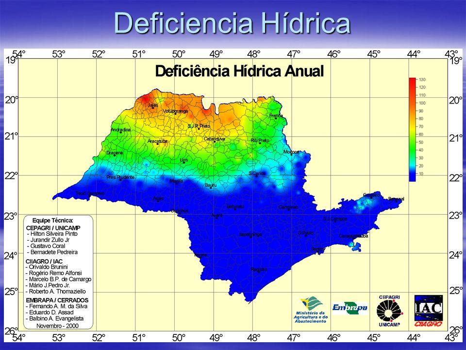 Deficiencia Hídrica