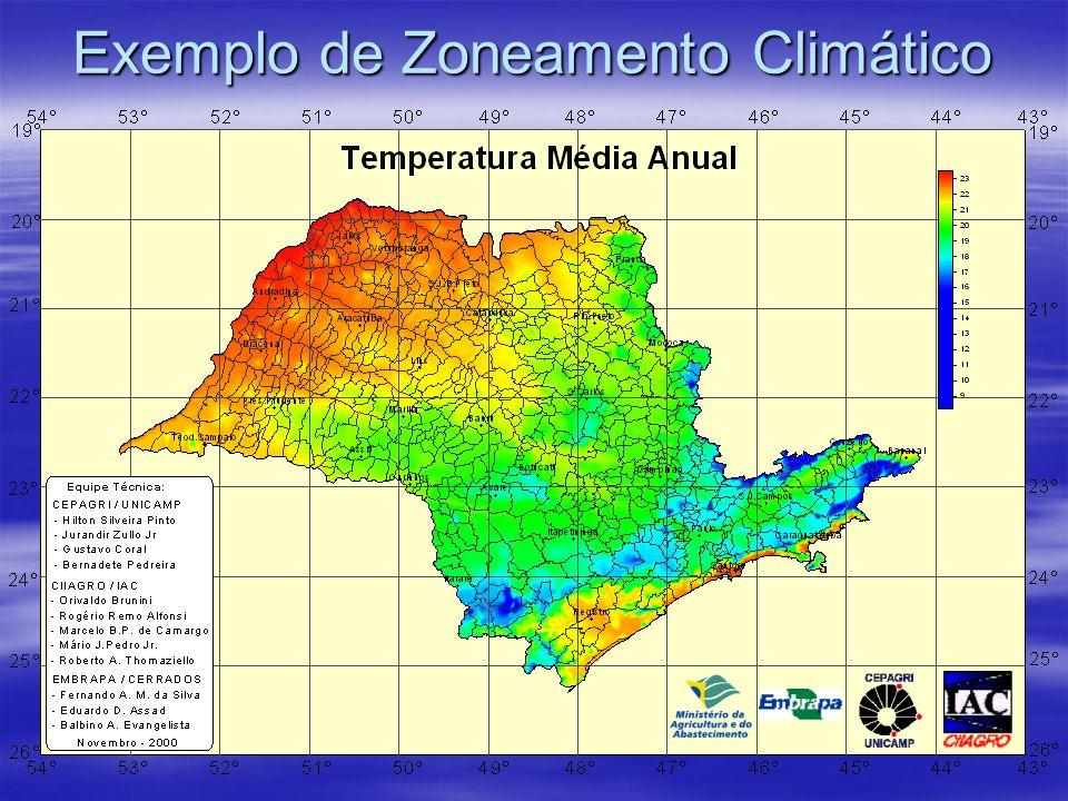 Exemplo de Zoneamento Climático