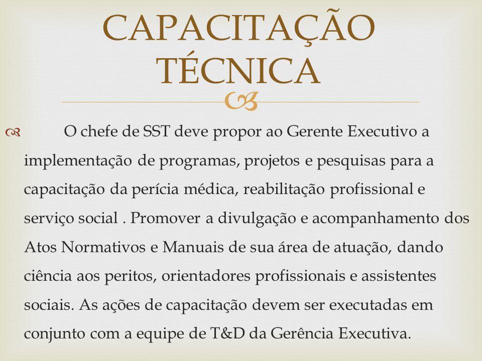 CAPACITAÇÃO TÉCNICA