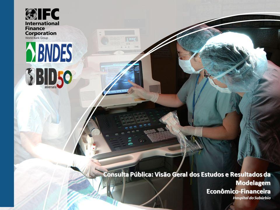 Consulta Pública: Visão Geral dos Estudos e Resultados da Modelagem Econômico-Financeira Hospital do Subúrbio