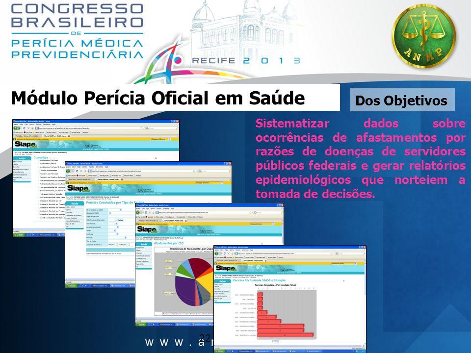 Módulo Perícia Oficial em Saúde